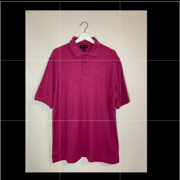Nordstrom Sz.M Men Polo Shirt Short Sleeve